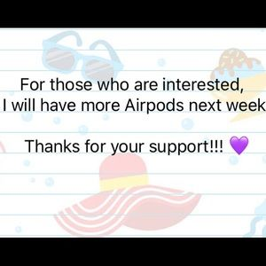 Thanks for your support!!